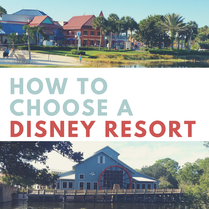 picking a disney hotel